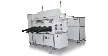 Thin film depition system integrated into glovebox